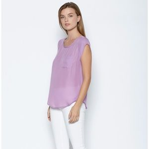 Joie Rancher blouse in shadow lily